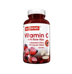 Vitamina C z dziką różą 100 tabl.