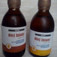 Olej Lniany świeżo tłoczony na zimno 1L